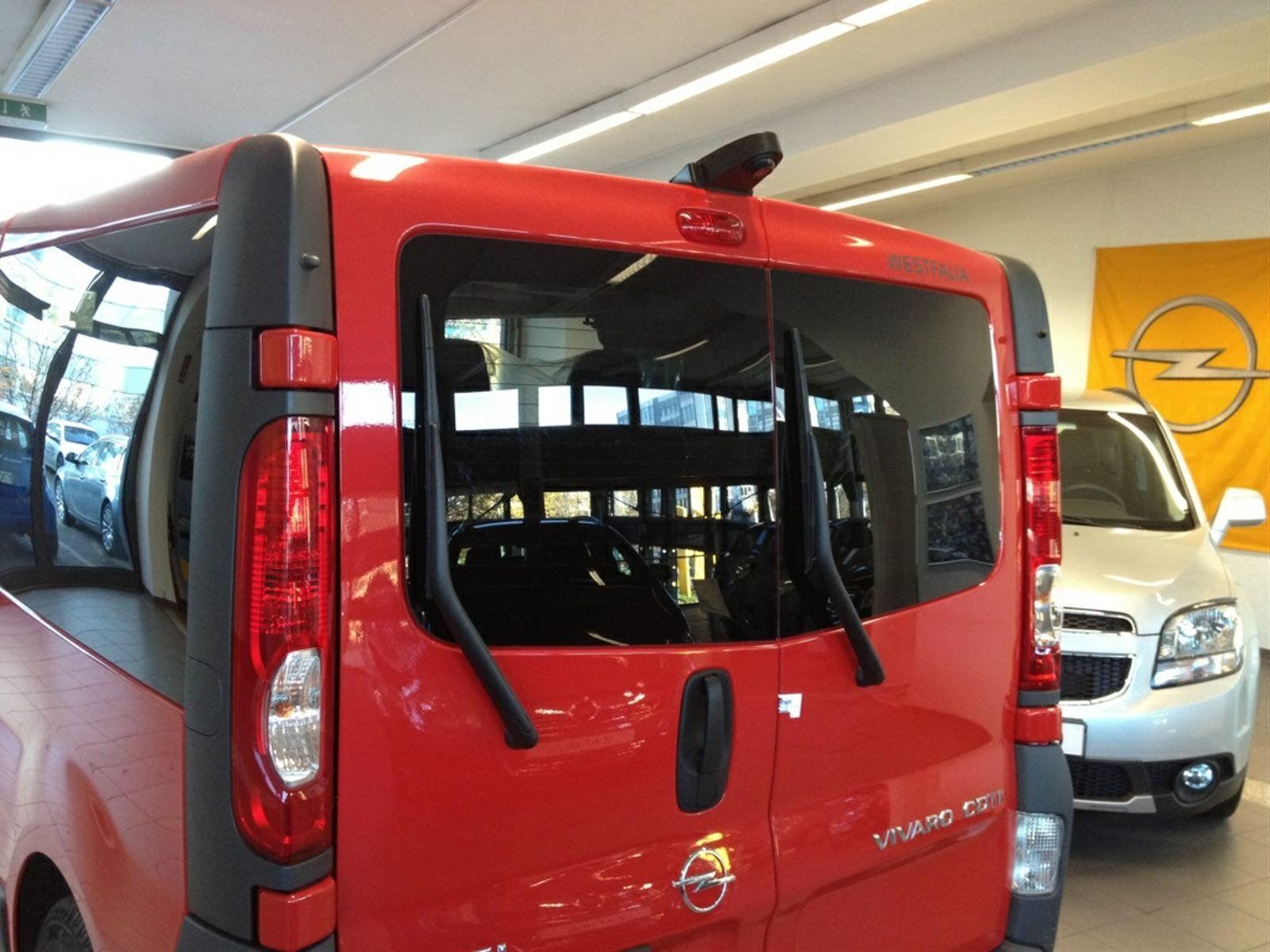 Rückfahrkamera Opel Transporter