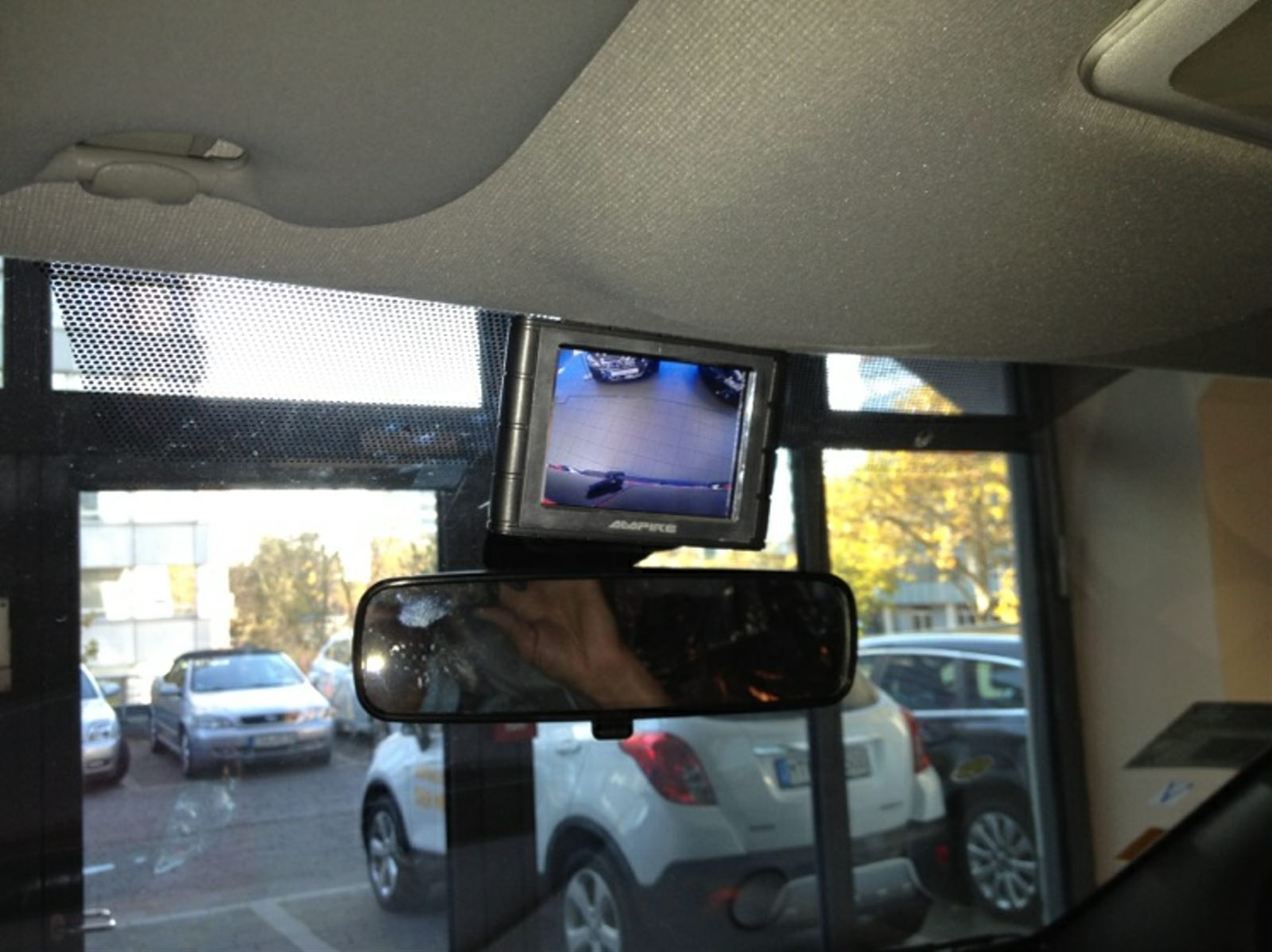Monitor Rückfahrkamera Oper Transporter