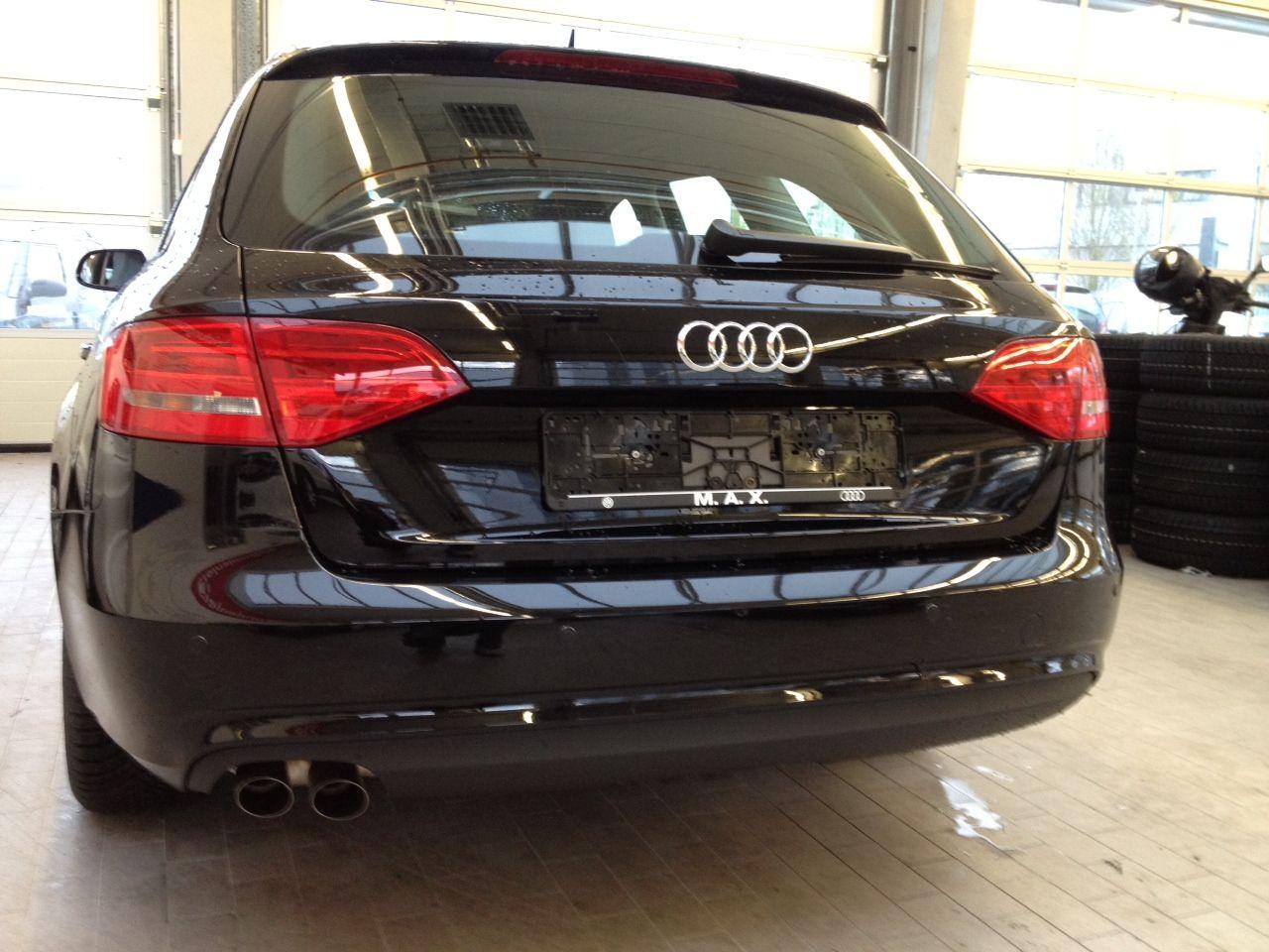 PDC Audi A4 rear