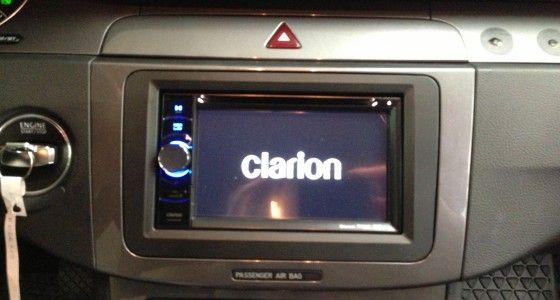 Clarion Doppel Din VW Passat B6