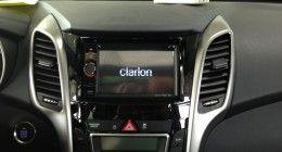 Clarion NX501E mit Rückfahrkamera